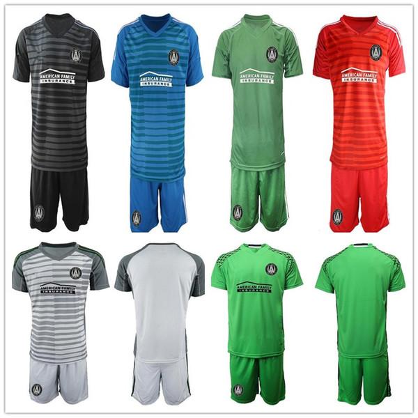 2019 2020 MLS Atlanta United FC Goleiro de Futebol Adulto JERSEY GARZA JONES VILLALBA MARTINEZ MCCANN Goleiro Camisas De Futebol