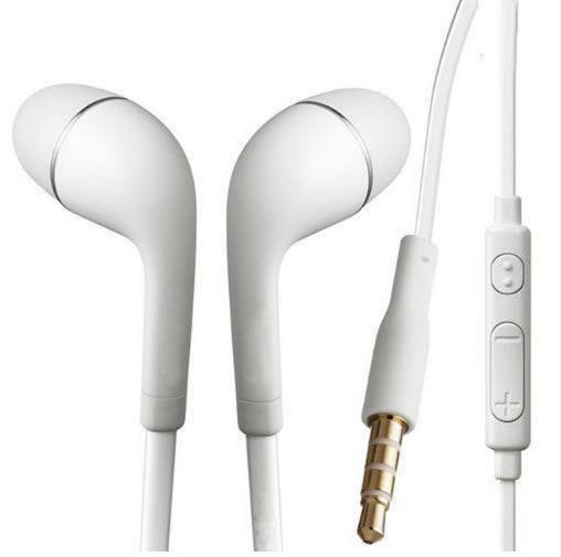 3.5mm jack Head set in-ear Earphone for Samsung Galaxy S5 S4 S3 Note 3 Note 2 N7100 S4 mini Ace Tab Handfree phone
