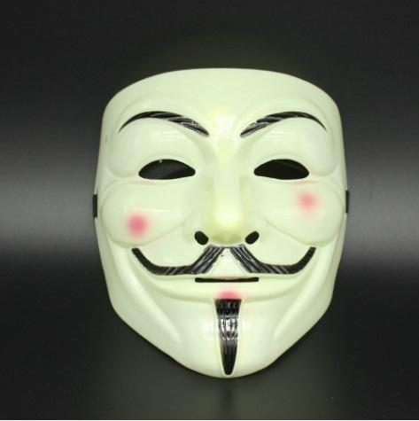 1PCS Party Masks V for Vendetta Mask Anonymous Guy Fawkes Fancy Dress Adult Costume Accessory Party Cosplay Masks Free shipping