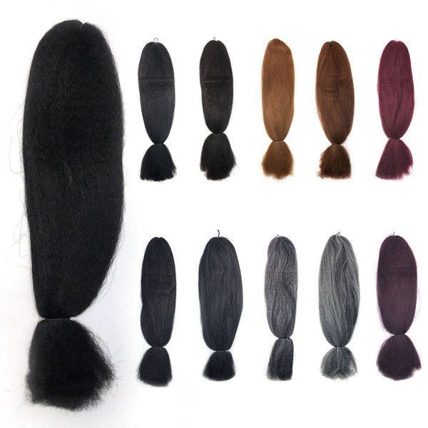 best selling Stock in USA Braiding Hair Jumbo Braid Hair Extensions 48 Inch Synthetic Hair 100% Advanced Fiber