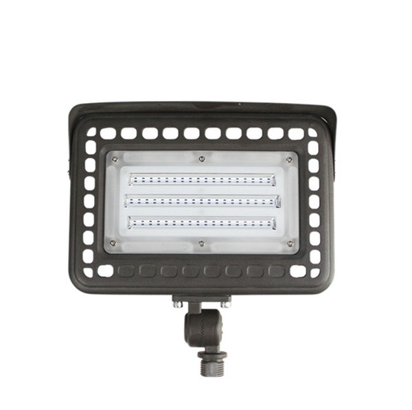 Led Flood Light 60w With 180 Adjustable Knuckle Mount Photocell Dusk To Dawn Outdoor Led Lighting Daylight White 5000k Led Outdoor Flood Lights 50w