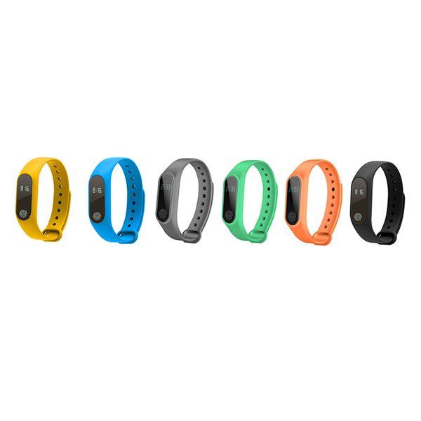 Pulseira de bracelete M2 inteligente