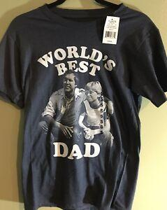 National Lampoon 039 s Vacation World 039 s Dad T Shirt Size S NWT Chevy Chase