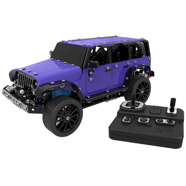 SW - ( RC ) - 005 2.4G 6 Channels RC Pickup Car Stainless Steel Model for Fun Remote Control Model Off-Road RC Car Vehicle Toys