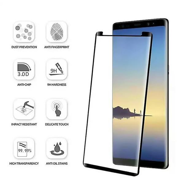 SZAICHGSI Screen Protector Eye Protective Film 3D Tempered Glass Protector Reduce Radiation For Samsung note 8 S8 S9 Plus S8Plus S9Plus