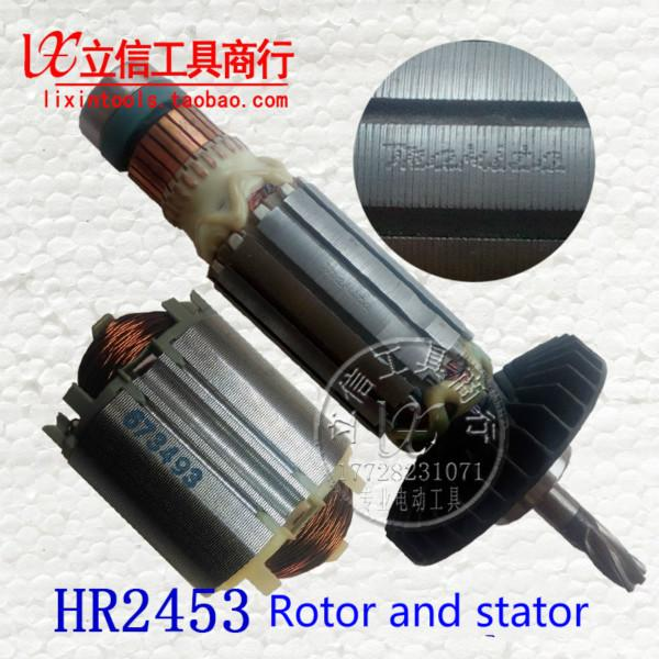Orijinal MAKITA elektrikli çekiç HR2453 rotor motor stator bobini
