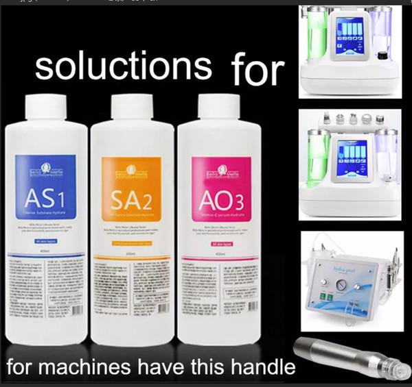 Hydra facial machine olution 400ml per bottle aqua facial erum hydra facial erum for normal kin hipping