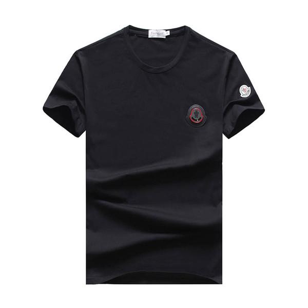 Nuova moda uomo lettera in cotone O-Collo maniche corte T-Shirt # 5018 Marca maschile Casual T Shirt Estate Uomo Design Hip Hop Supera it