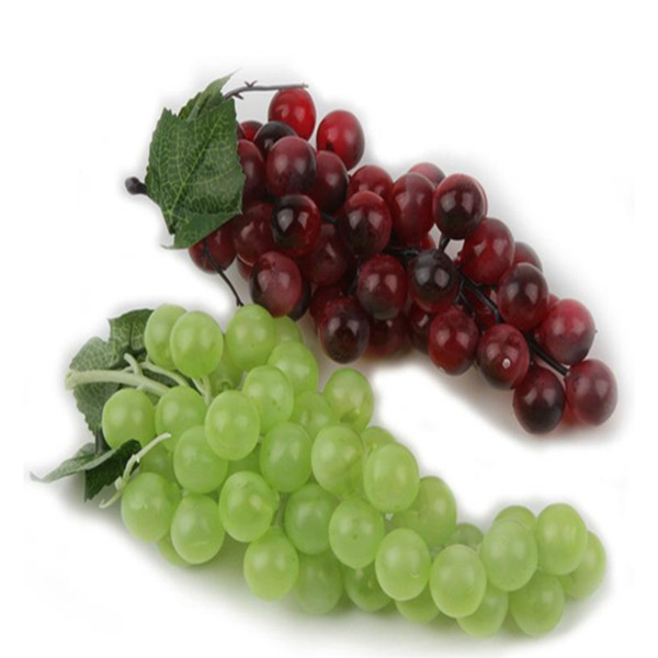 2019 New Bunch Lifelike Artificial Grapes Plastic Fake Decorative Fruit Food Home Decor Grape Window Decoration From Flyw201264 1 59 Dhgate Com