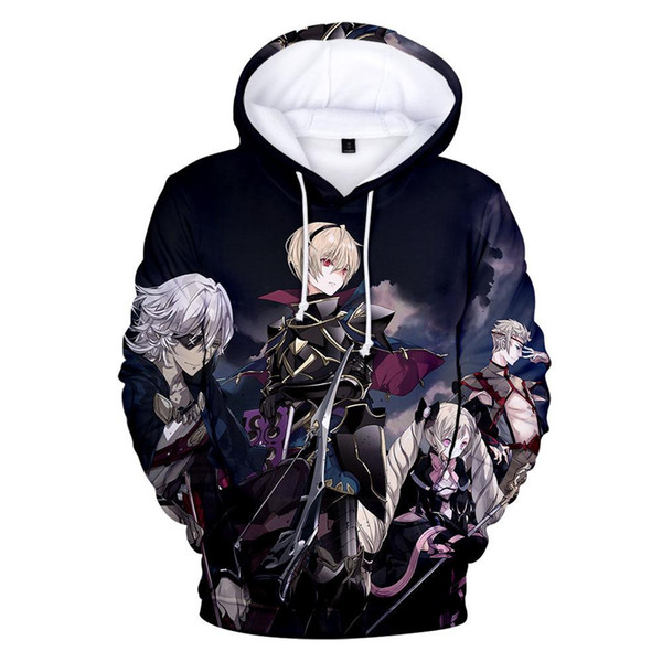 Fire Emblem 3D Printed Designer Hoodie Mens Clothes Spring Autumn Hooded Causal Teenager Pullovers Sweatshirts