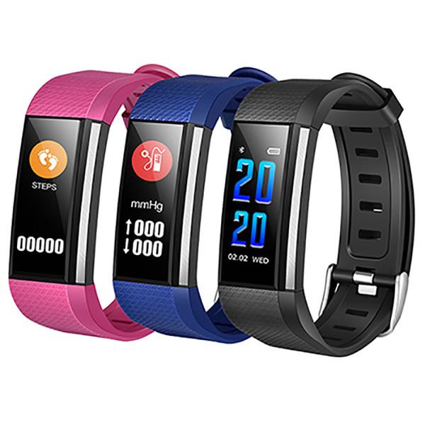 M200 Pulseras inteligentes Banda deportiva Ritmo cardíaco Presión arterial / Oxígeno sanguíneo Relojes Pulsera impermeable Rastreador de ejercicios Con caja al por menor