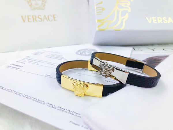 2019 nuovissimi gioielli di moda in acciaio inossidabile di lusso bracciali braccialetti pulseiras bracciali per uomo e donna con confezione regalo jak90a