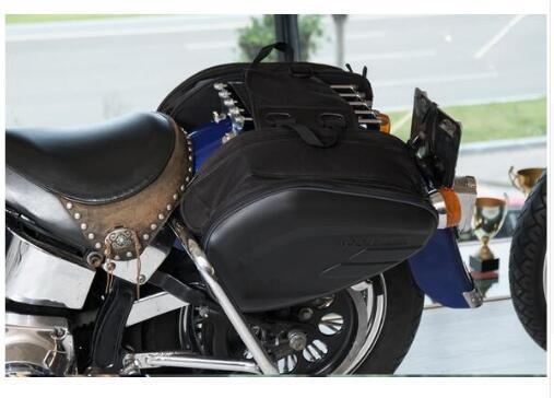 2017 Rock Biker brand saddle bag riding bag motorcycle general side back cover can be put helmet