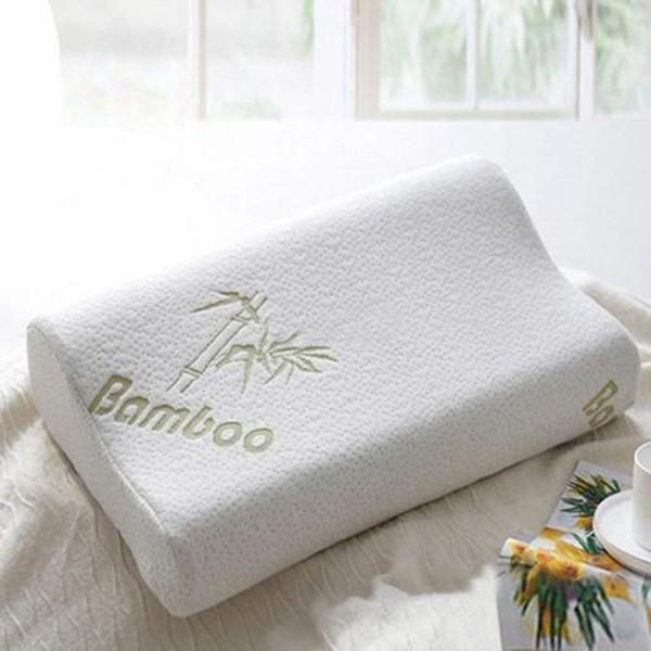 Cuscino in fibra di bambù Cuscino lento in schiuma rimovibile Memory Foam