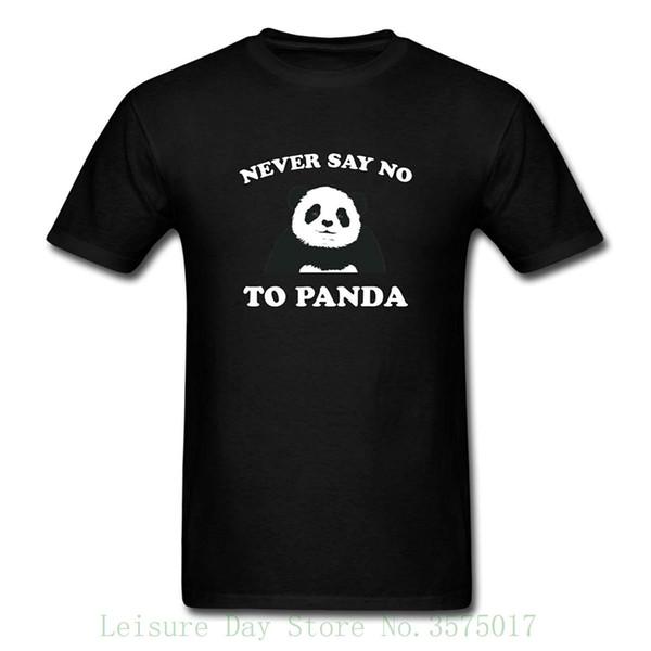 Ne jamais dire non à Panda T-shirt pour hommes