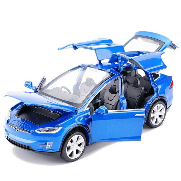 1:32 Tesla Model X S Alloy Car ModelX Diecasts Toy Vehicles Toy Cars Kid Toys For Children Gifts Boy