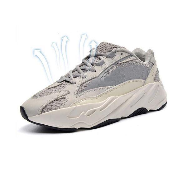 2019 700 V2 Kanye West Wave Läufer Vanta Analog Static Inertia Solid Grau Mauve Damen Laufschuhe Herren Turnschuhe Sportschuhe