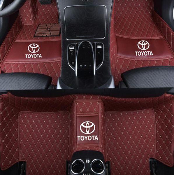 Aplicable al tapete interior de PU de Toyota Highlander 2009-2018 antideslizante estera no tóxica, insípida y ecológica