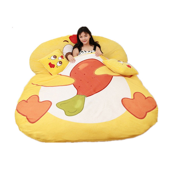 Cool 2019 Dorimytrader Cartoon Chick Bed Plush Soft Animal Chick Beanbag Tatami Carpet Sofa Mat Sleeping Bag For Children Gift Decoration Dy60844 From Inzonedesignstudio Interior Chair Design Inzonedesignstudiocom