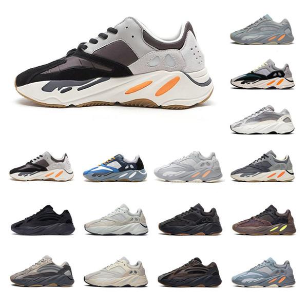 2020 delle donne degli uomini scarpe casual Kanye West 700 V2 tennis atletiche progettista esecuzione scarpe sportive da jogging a piedi scarpe da ginnastica tempo libero all'aria aperta