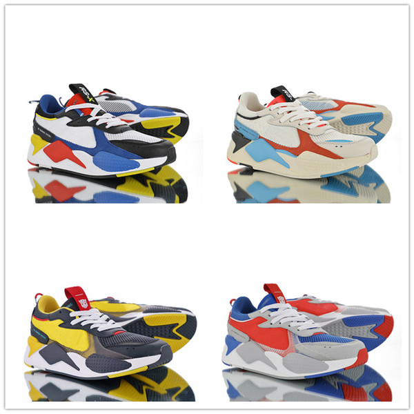 Hasbro Transformers RS X Toys Reinvention Optimus Prime Bumblebee Shoes 2018 New High Quality Men Women Casual Sneakers Size 36 44 Gold Shoes Mens