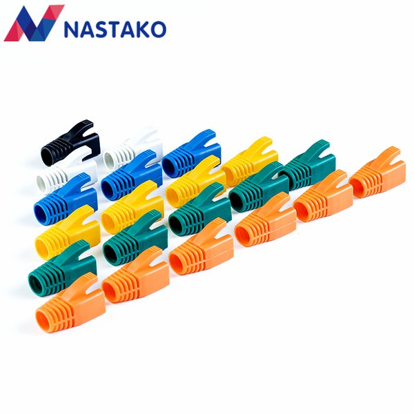 Computer & Office Colorful Cat6 RJ45 Connector Caps Cat6A Plugs Boots Network Ethernet Cable Dust Cap RJ45 Connector Covers