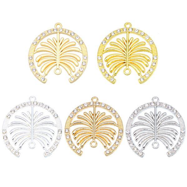 50pcs DIY Necklace Bracelet Accessories Dubai Palm Island Exquisite Women's Glamour Fashion Pendant Handmade Jewelry Accessories wholesale