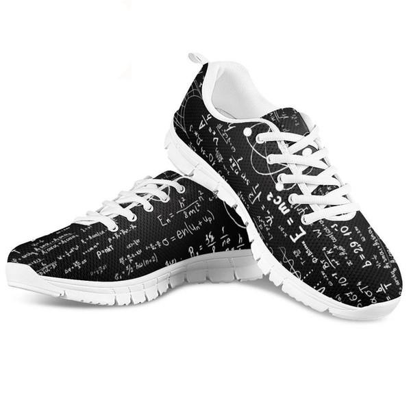 İlkbahar Yaz Kadın Rahat Ayakkabılar Daireler Moda Nefes Yürüyüş Hava Mesh Ayakkabı Matematik Sneakers 2019 Tenis Feminino