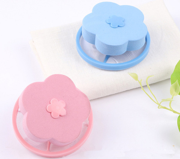 2019 Hair Removal Catcher Filter Mesh Pouch Cleaning Balls Bag Dirty Fiber Collector Washing Machine Filter Laundry Balls Discs