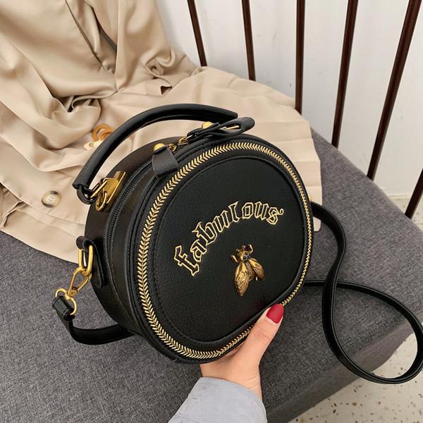 2019 Borsa circolare da donna Borse a tracolla da donna di moda Borsa a tracolla di moda Borse a tracolla a tracolla di alta qualità xiangdangdang / 8