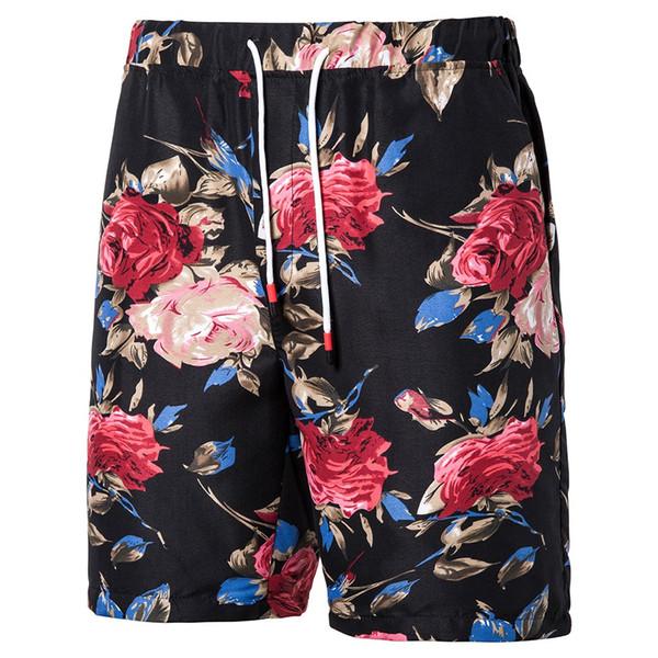 2019 Summer Hot Sale Male Short Pants Men' Beach Shorts Quick Dry Printing Board Shorts Men Casual Slim Boxers Bottoms
