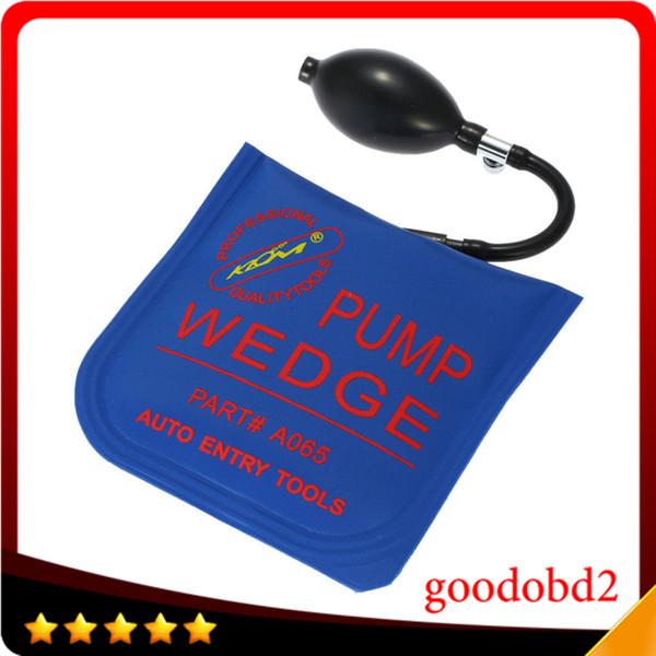Ferramenta de Diagnóstico Klom Carro Bomba de Ar Cunha Azul Médio Auto Air Wedge Airbag Lock Pick Set Ferramenta de Serralheiro 5 pçs / saco