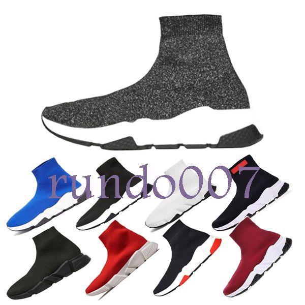 2019 sıcak en Lüks Tasarımcı moda Erkekler Dalga Koşucu Kadınlar Casual sneaker çorap erkekler chaussures scarpe zapatos hommes femmes Hız Trainer