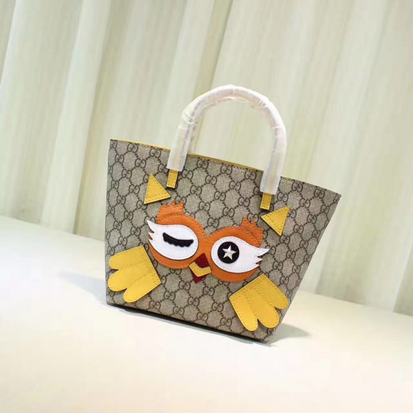 477488 New Cute Owl real leather HANDBAGS mini fashion SHOULDER MESSENGER BAGS TOTES ICONIC CROSS BODY BAGS TOP HANDLES CLUTCHES EVENING