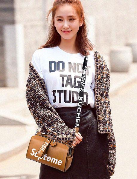Frete Grátis 2019 novo saco das mulheres versão Coreana do fresco e elegante one-ombro pendurado bolsa PU bolsa
