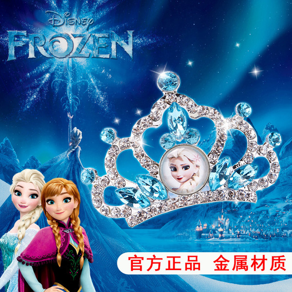 2019 di nuovo stile del prodotto Accessori Originali Crown BAMBINI fascia dei capelli dei metalli congelata Bambina Copricapo