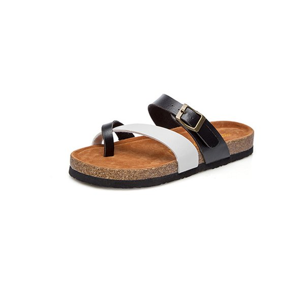 Hot Women Beach Slippers Summer Sandals Wedges Slip On Slides Platform Peep Toe Flip Flops Ladies Casual Shoes Sandalias