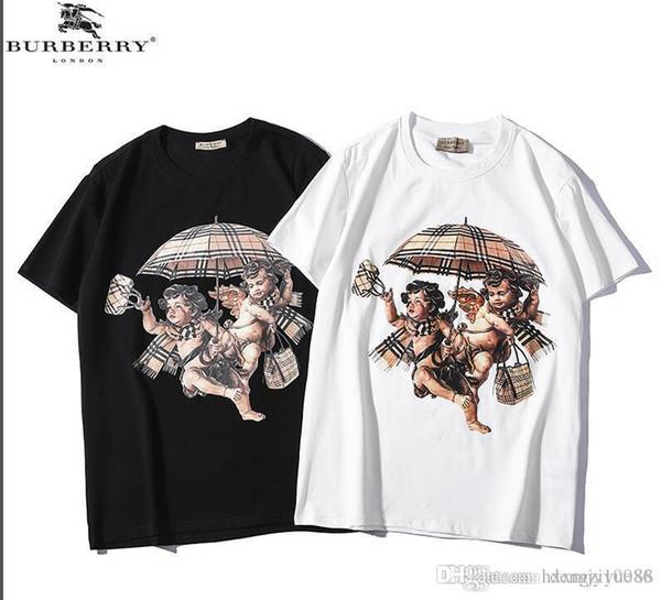 T-shirt imprimé pour hommes de la mode des hommes medusa T-shirt décontracté 100% coton de la mode des hommes et des femmes T-shirt vêtements