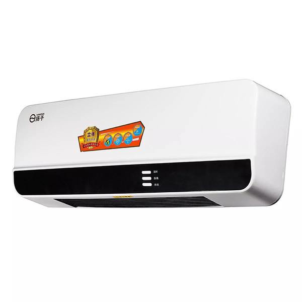 top popular 2000W 220V 50Hz Electric Wall Mounted Heater Warmer with Remote LED shows clear real-time temperature and working statue display 2020