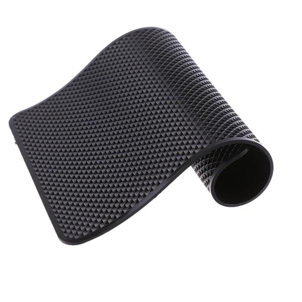 1 ШТ. Авто Supplie Anti Slip Приборной Панели Липкий Pad Non Slip Mat Черный ПВХ Держатель Липкий Ковер Для GPS Сотовых Телефонов Интерьер Автомобиля