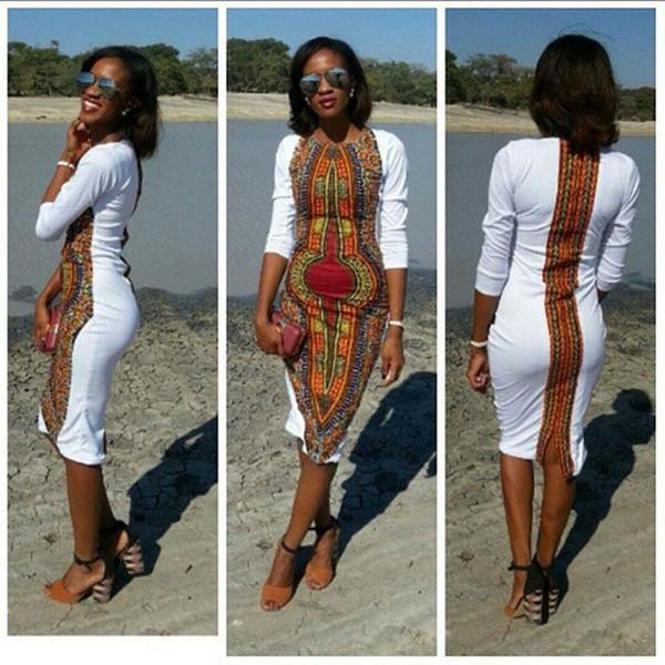женская юбка африканские платья для женщин летние дашики для женщин плюс размер Новая мода африка одежда эластичные платья дашики