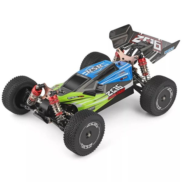 top popular Wltoys 144001 1 14 2.4G 4WD High Speed Racing RC Car Vehicle Models 60km h RC Car 550 Motor RC Off-Road Car RTR T200115 2020