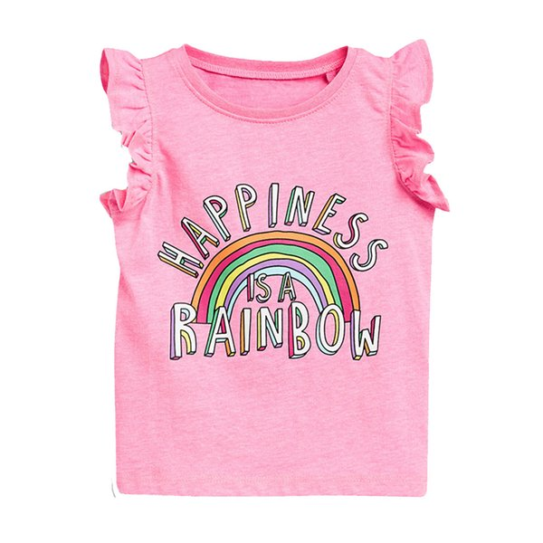 New Fashion Unicorn Baby Girls T Shirts Cotton Short Sleeve Girls Summer Tops Children T Shirts Kids Tops