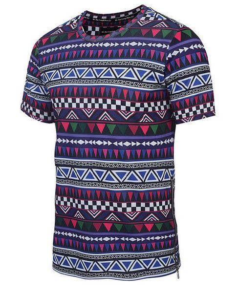 Llnew 2018Luxury tees Erkek Tasarımcı T Shirt erkek Moda Baskı tişörtleri Yaz Kısa Kollu Pamuk Rahat Marka Hip Hop Tops T-shirt