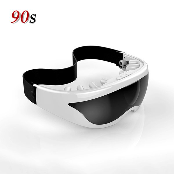 Cuidados Com Os olhos Massageador Silicone Vibrador Elétrico Óculos para Os Olhos Relaxar Máquina de Massagem Com Pressão Dispositivo de Saúde Ferramenta de Produtos de Beleza C18112601