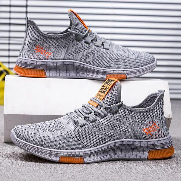 Moda Açık Ayakkabı% 50 Erkek Spor Sneakers Ins Yaz Erkek Sonbahar Günlük Ayakkabılar Dantel-up Sağlam Amerikan Mesh Ayakkabı