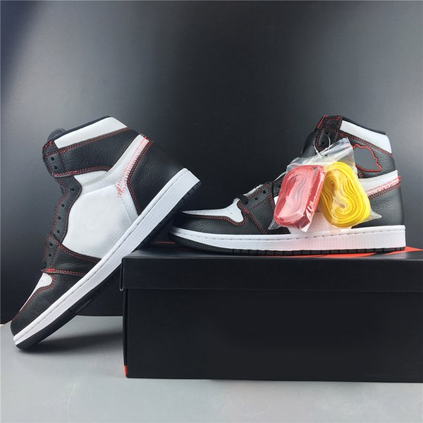 2019 Summer High OG Defiant Tour Yellow Basketball Shoes 1 New Fashion Unique Black White Yellow Red Running Designers Mens Sports Chaussure