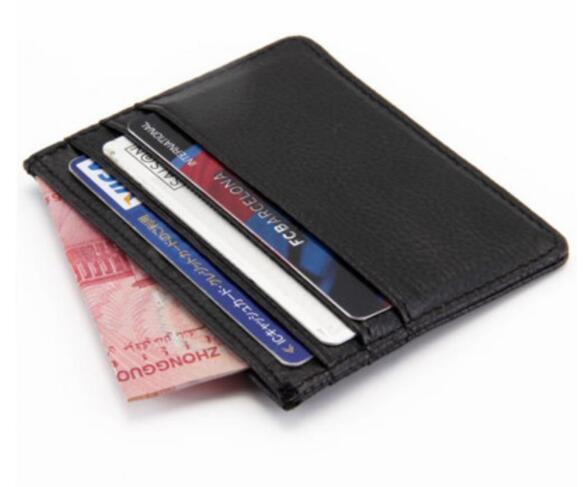 mens titolare della carta del progettista del raccoglitore delle donne titolari di carta di carta di lusso in pelle borse del supporto borse nere piccola borsa portafogli progettista
