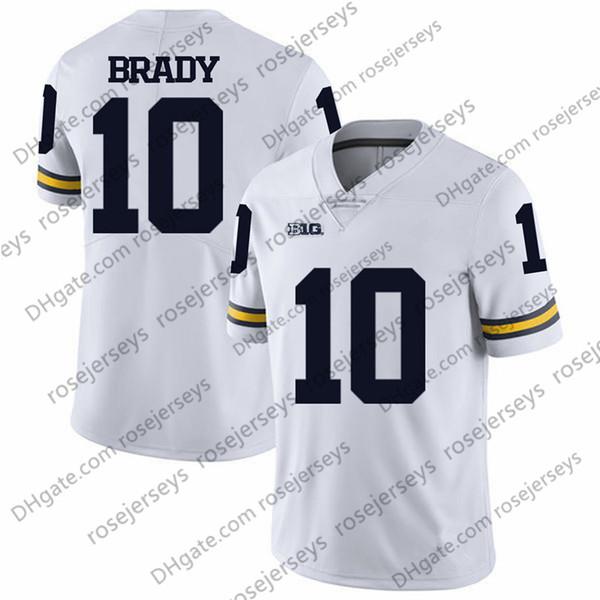10 Tom Brady Blanc