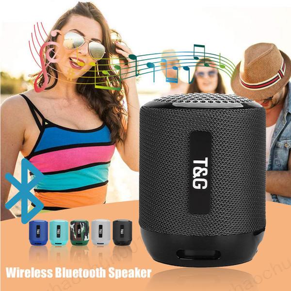 100x TG129 Tragbare bluetooth lautsprecher wireless sound box freisprecheinrichtung telefon computer mini lautsprecher + mic unterstützung tfAUX USB FM Radio boombox